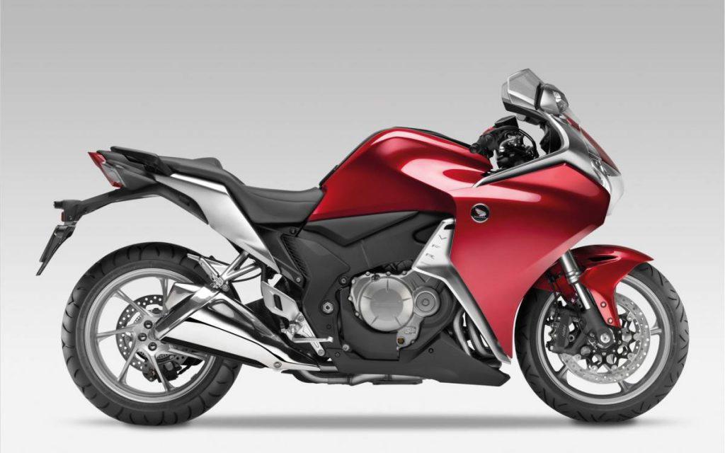Honda VFR 1200F with V4 engine (Image courtesy: Honda)