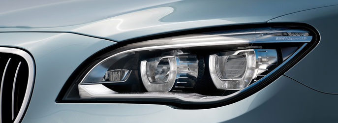 BMW ActiveHybrid 7 Headlamp