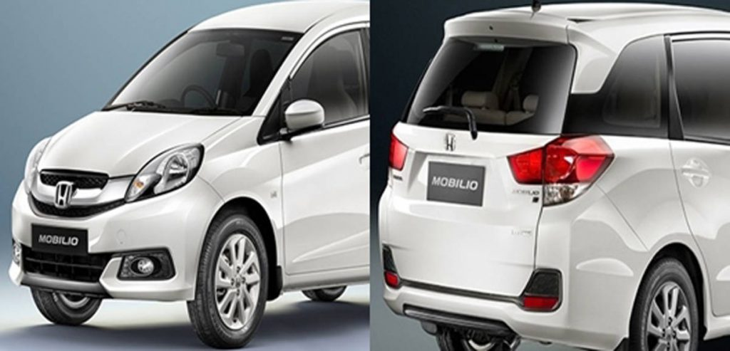Honda Mobilio Front Grill and Tail-gate (Photo Courtesy: Honda India)