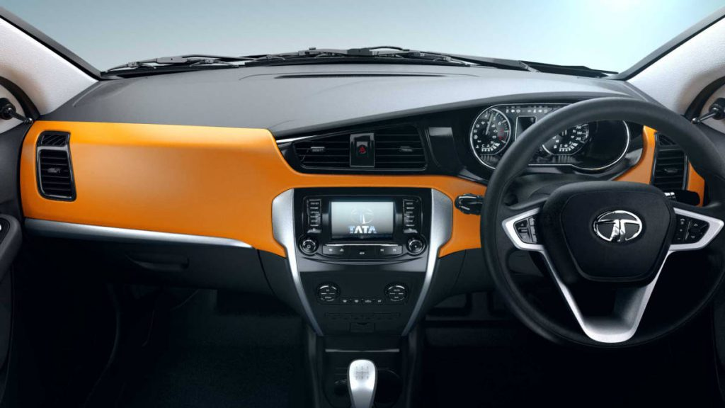 Tata Bolt Dashboard (Photo Courtesy: Tata Motors)
