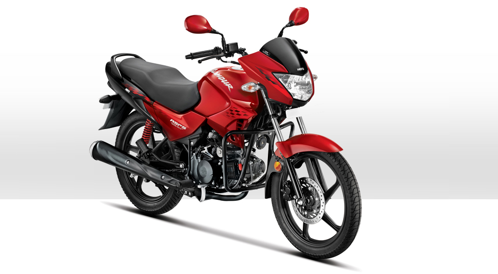 Hero Glamour with FTIS (Photo Courtesy: Hero MotoCorp)
