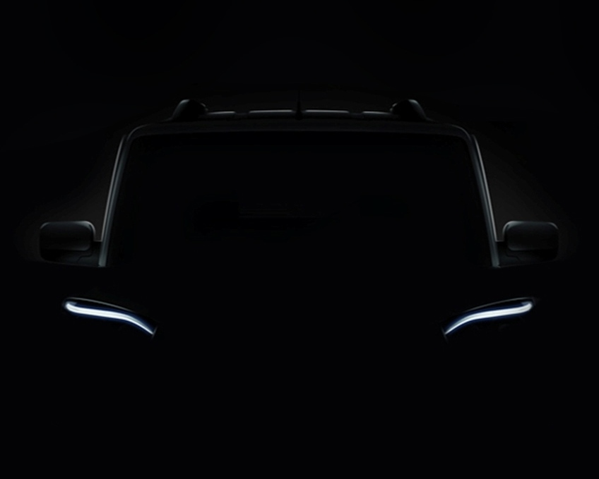 Mahindra Scorpio Facelift teaser (Photo Courtesy: Mahindra, Snapdeal)