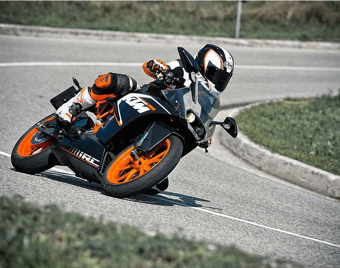 KTM RC200(courtesy KTM)