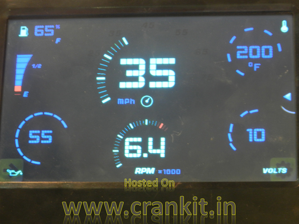 Digital Dashboard display