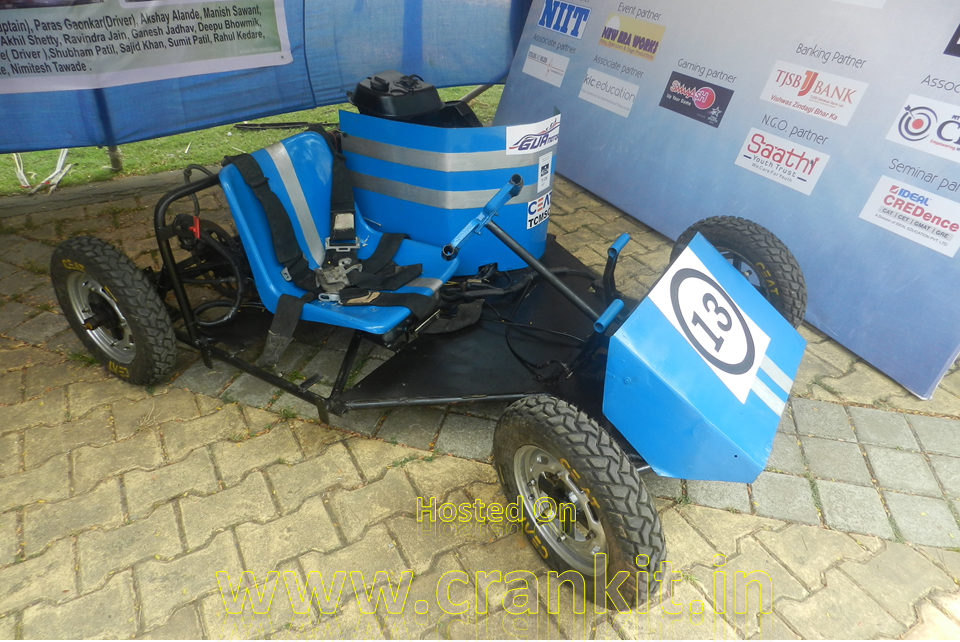 Go-Kart of Team GVA Motorsports