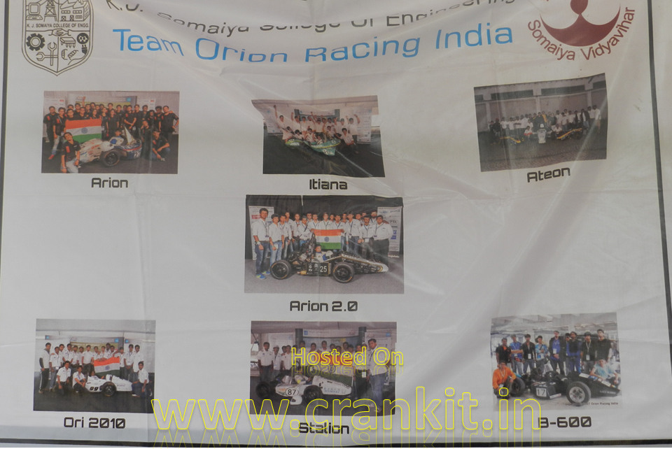 Team Orion at Abhiyantriki 2014