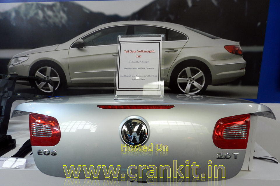 VW Eos Composite Tailgate