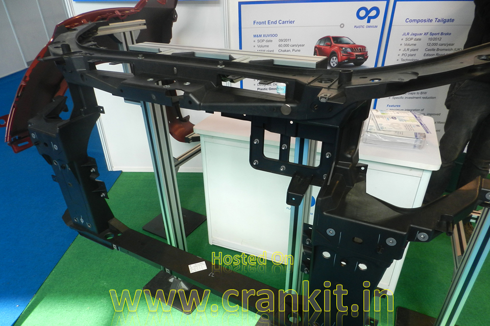 XUV500 Front-end Carrier at Automotive Ancillaries Show 2014