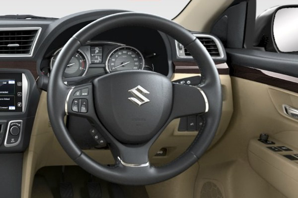 Maruti Ciaz Interior (Photo Courtesy: Maruti Suzuki)