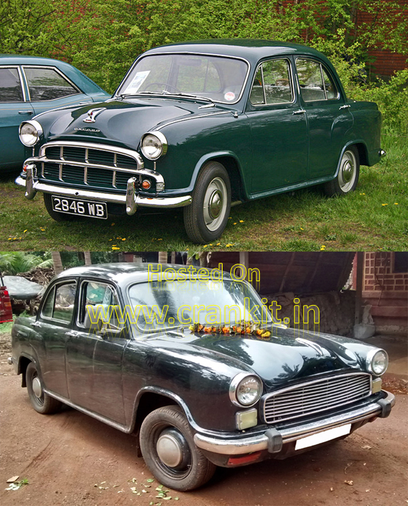 Morris Oxford Series III (top) & Ambassador Mark I (bottom) (Photo Courtesy: Wikimedia Commons)