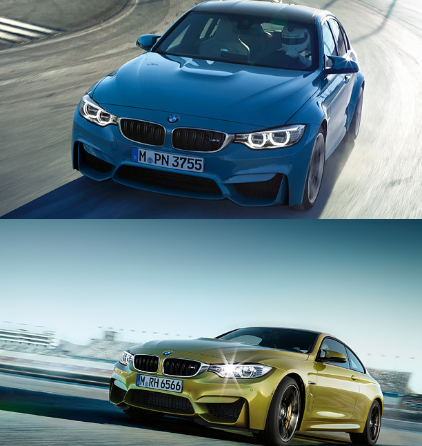 New BMW M3 (top) & M4 (bottom) (Photo Courtesy: BMW India)