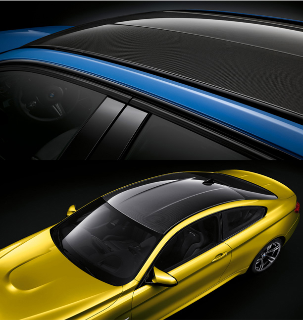 New BMW M3 & M4 Roof (Photo Courtesy: BMW India)