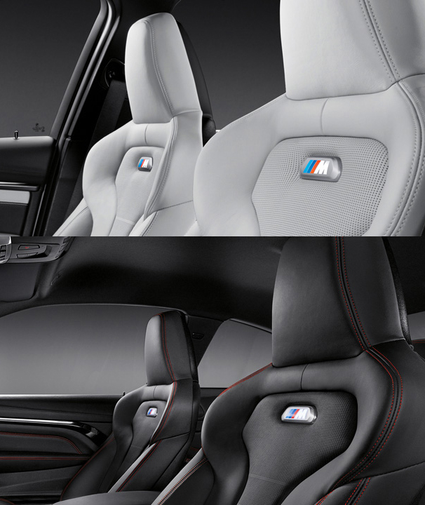 New BMW M3 & M4 Seats (Photo Courtesy: BMW India)