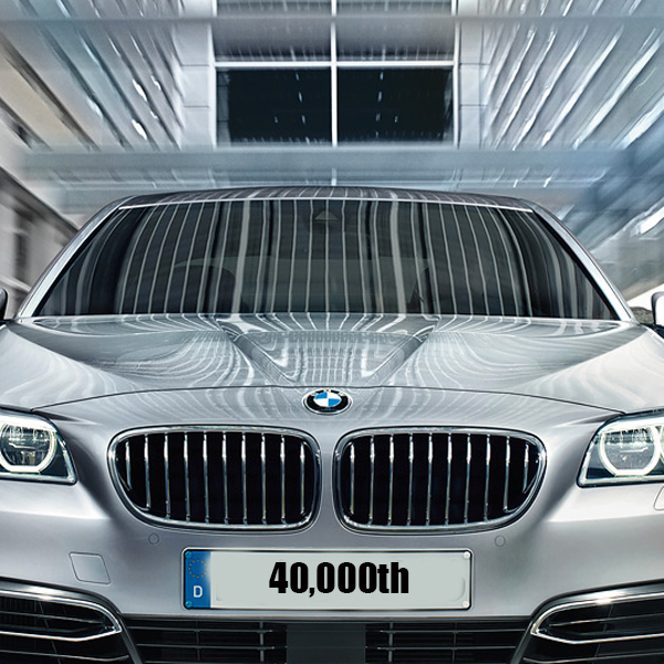 Bmwpany In India: 40,000th Locally Produced Bimmer Rolls Out