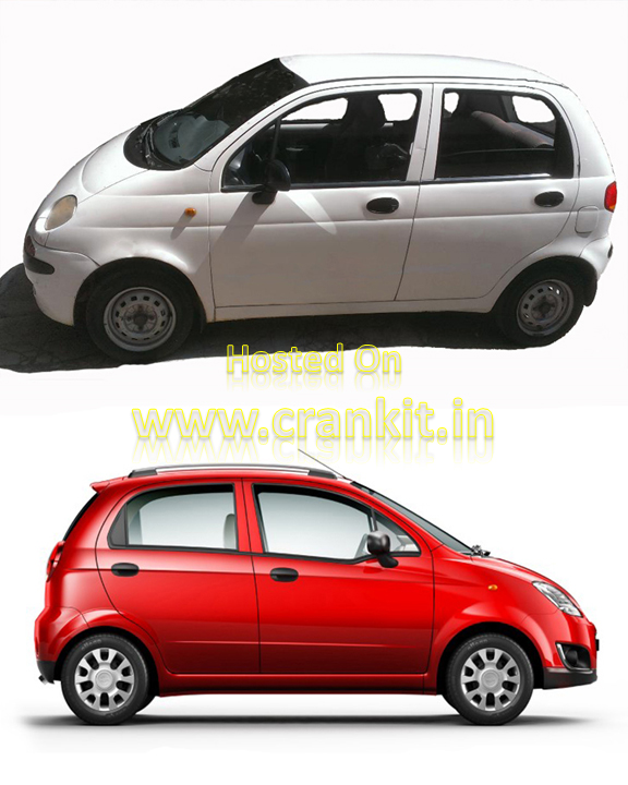 Daewoo Matiz (top) & Chevrolet Spark (bottom) (Photo Courtesy: Chevrolet)