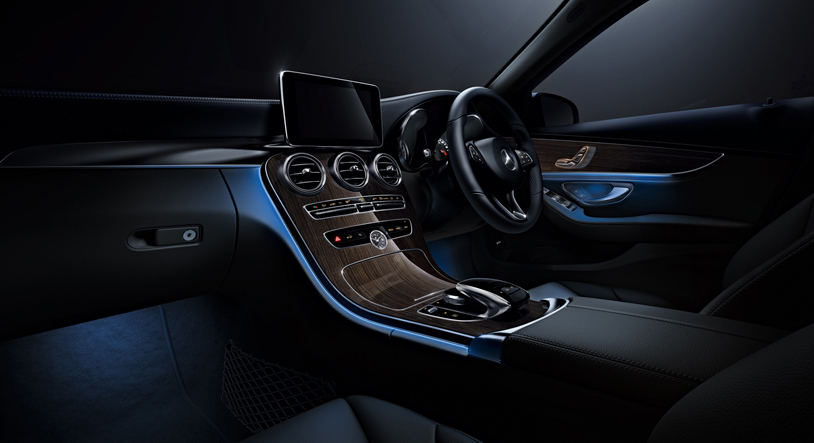 New Mercedes C200 Ambiance (Photo Courtesy: Mercedes India)