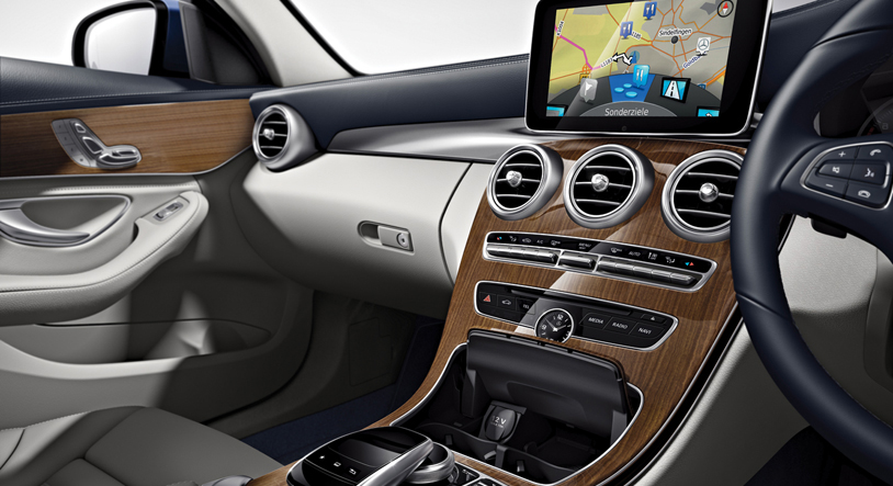New Mercedes C200 interiors (Photo Courtesy: Mercedes India)
