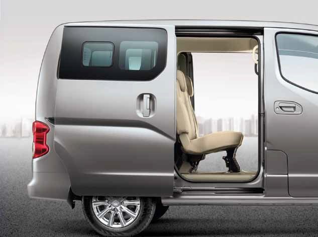 Nissan Evalia Features (Photo Courtesy: Nissan)