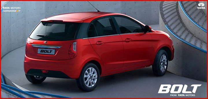 Tata Bolt red colour