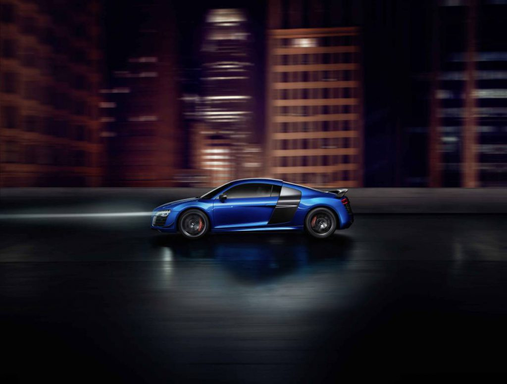 Audi R8 LMX (Courtesy: Audi)