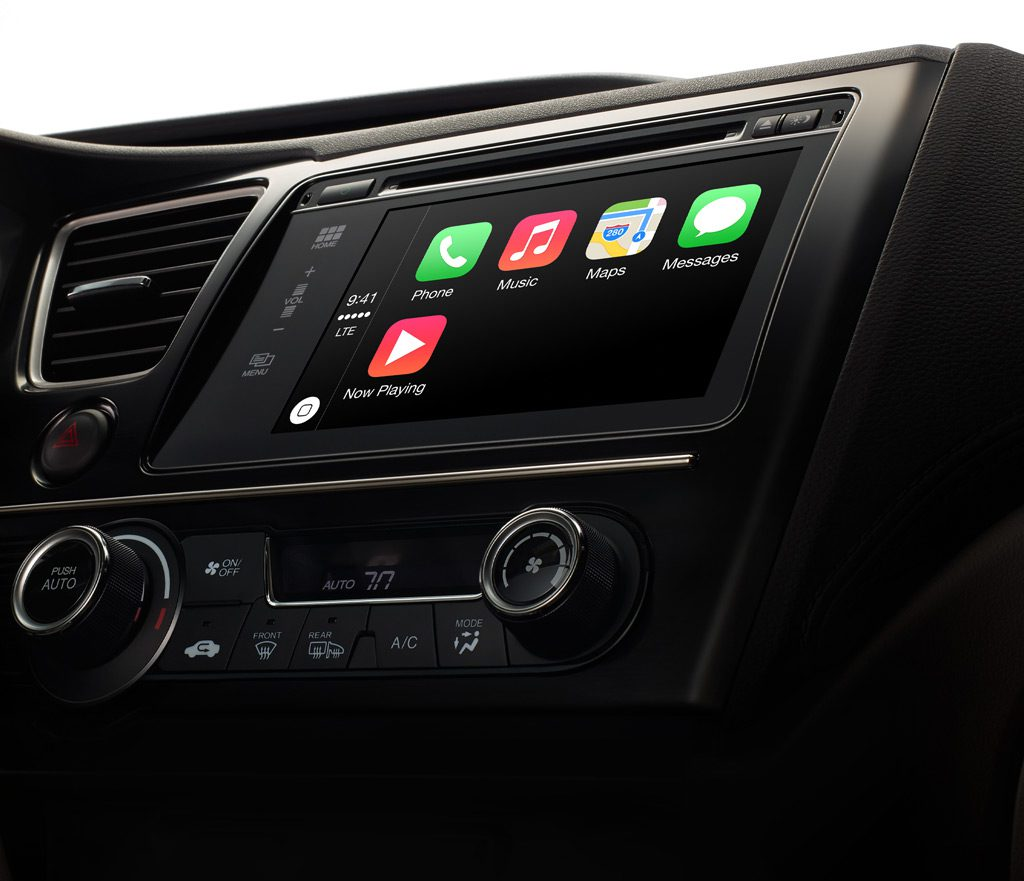 Apple CarPlay (Courtesy: Apple INC.)