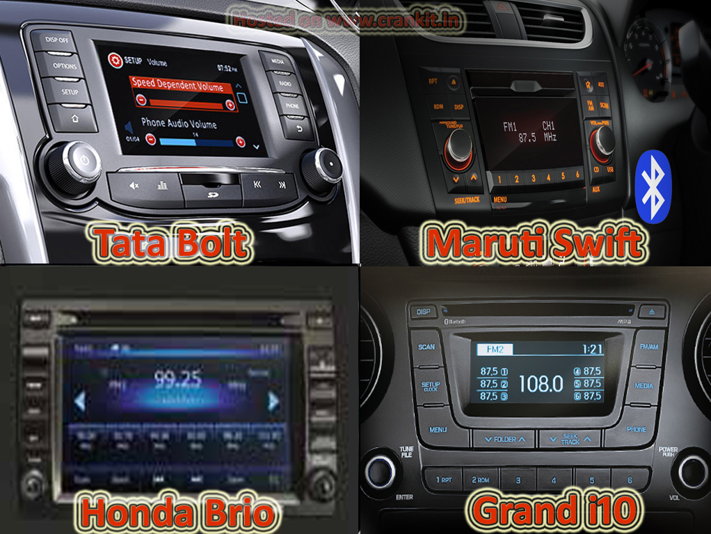 Comparison: Tata Bolt vs the Rest Petrol - Music system