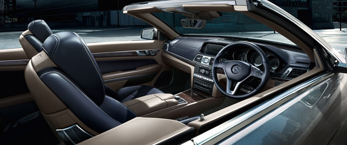 Mercedes E400 Cabriolet  (Image courtesy: MB India)