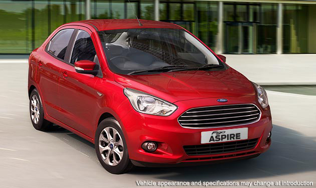 Ford Figo Aspire (Photo Courtesy: Ford India)