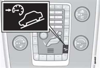 HDC button on dashboard (Image Courtesy: Volvo)