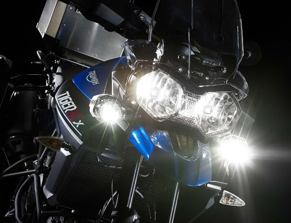 Triumph Tiger 800 XRx Headlights