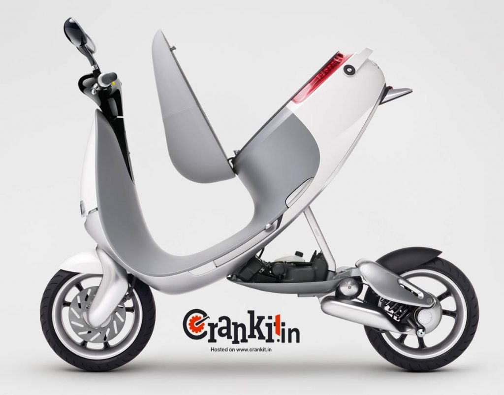 Smartscooter Pit-Up chassis for easy service