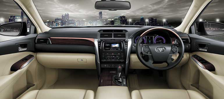 all new camry interiors
