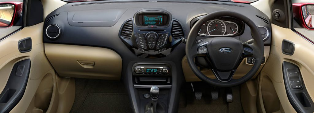 Figo Aspire dashboard