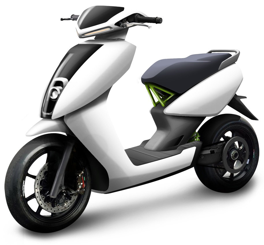 Ather e-Scooter S340 (courtesy: Ather)