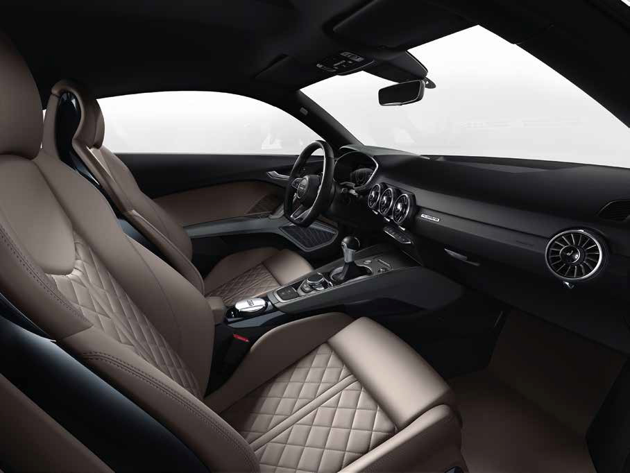 Audi TT Coupe interiors (Courtesy: Audi)