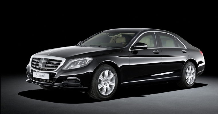 Mercedes S600 Guard (Photo Courtesy: Mercedes Benz)