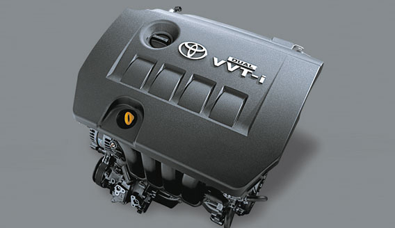 Dual VVTi Engine (image courtesy,Toyota)