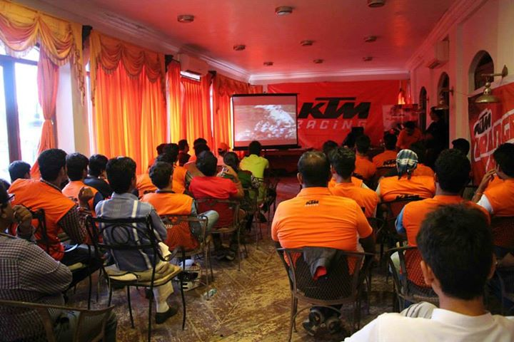 KTM Training Session & sports motorcycling