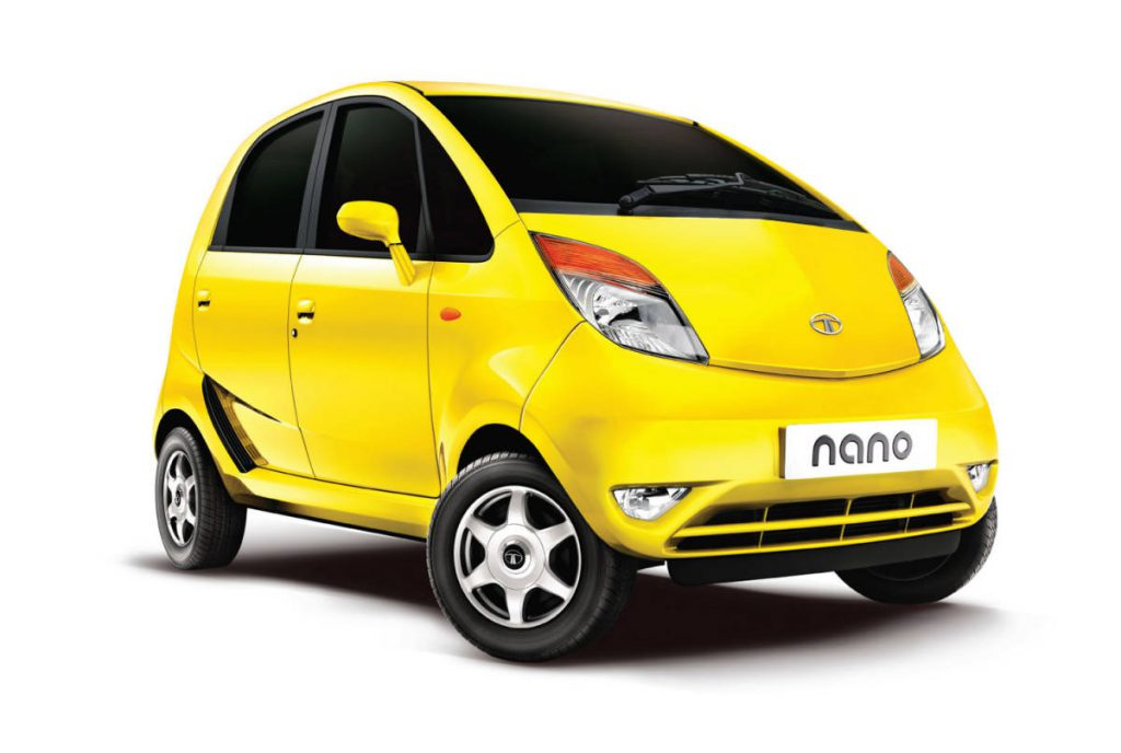 Tata Nano tops the list of 11 Best Mileage Cars