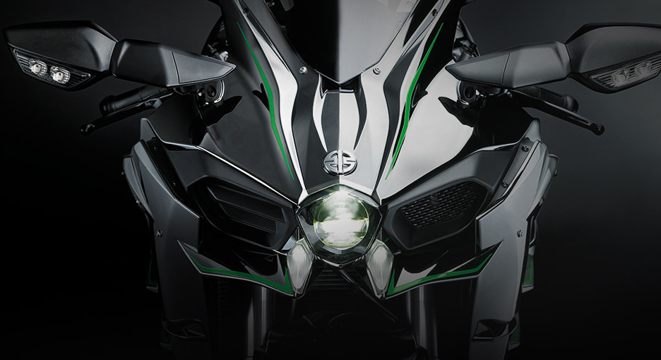 Bike or a Warcraft? Kawasaki Ninja H2 (Courtesy: Kawasaki)