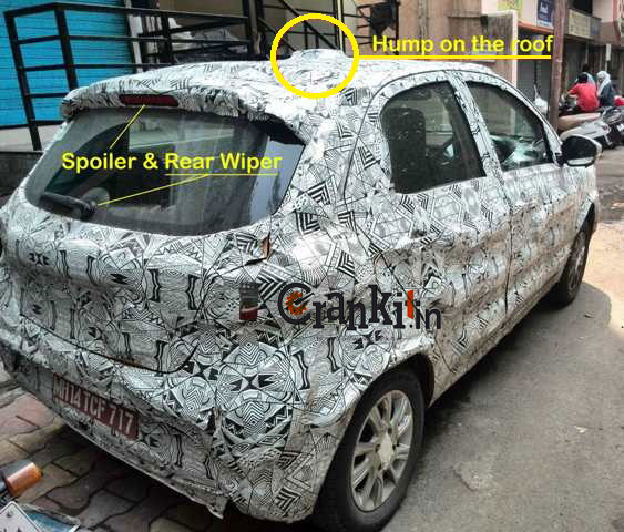 Tata Kite with Spoiler & Rear Wiper