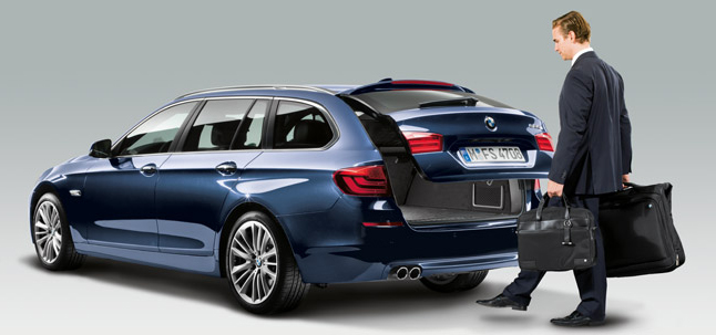 Comfort Access System (Image Courtesy: BMW)