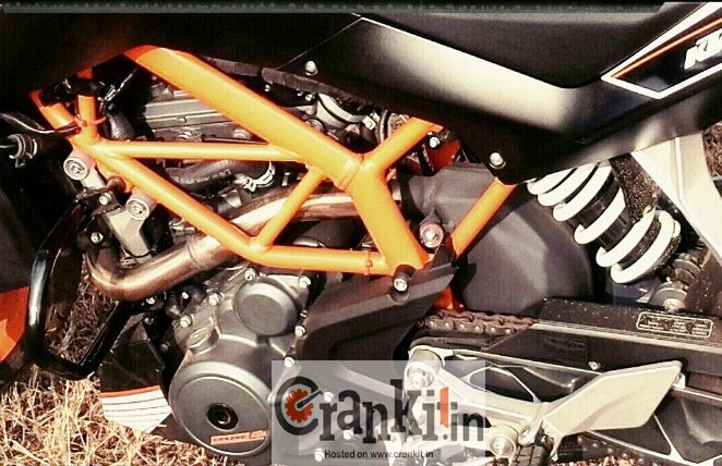 KTM Duke 390 suspension
