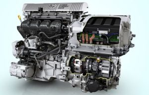 Hybrid Synergy Drive Equiped Engine