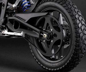 zero motorcycle powertrain