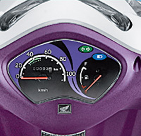 Honda Activa i 2016 Instrument panel (Courtesy: Honda Scooters)