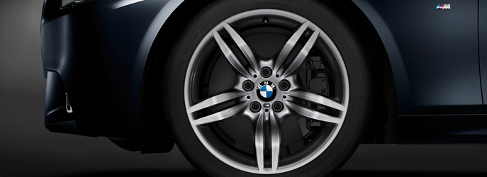 BMW 520d M sport Alloy wheels