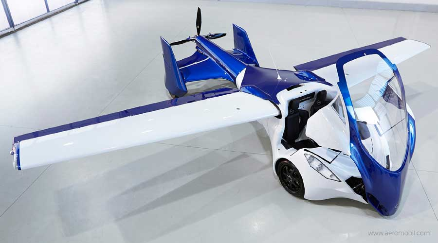 AeroMobil Front View