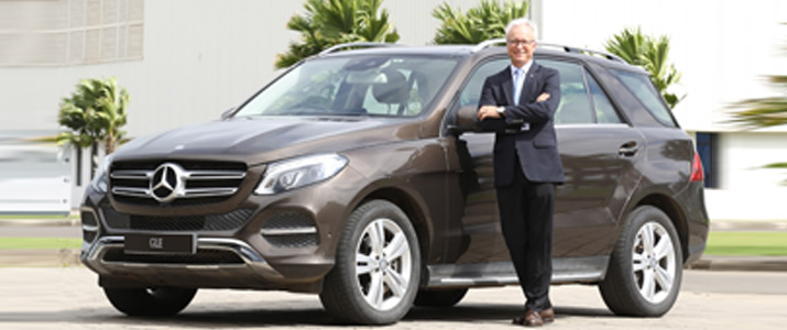Mercedes Benz GLE 400