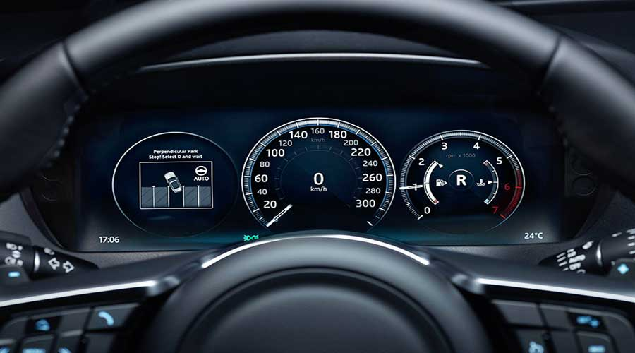 jaguar f-pace dashboard